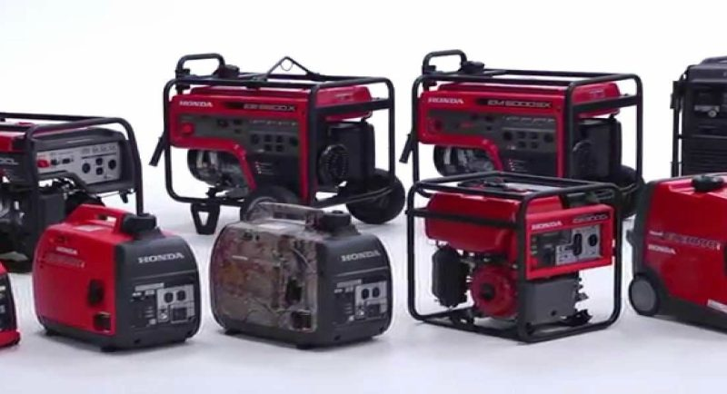 Honda generator prices