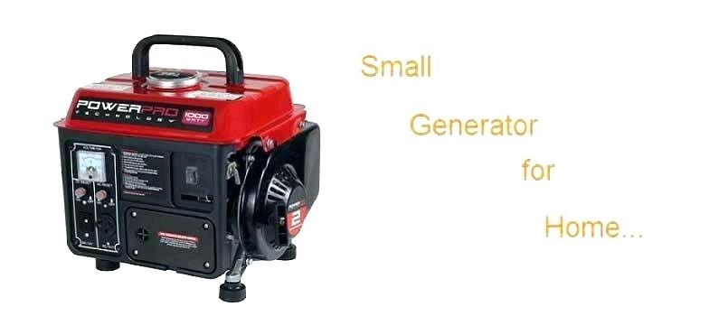 small generators price