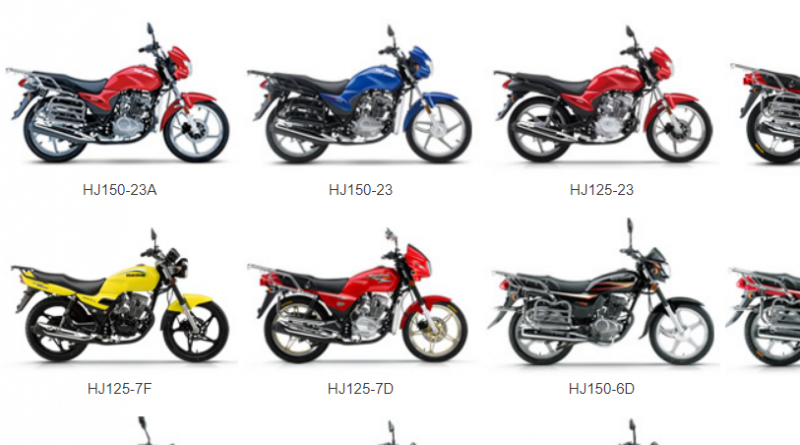 Haojue Motorcycle Price List in Nigeria